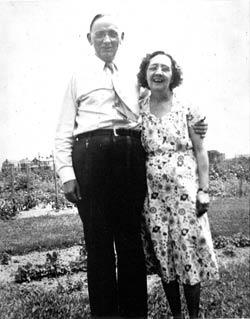 Edgar Cayce y su mujer Gertrude