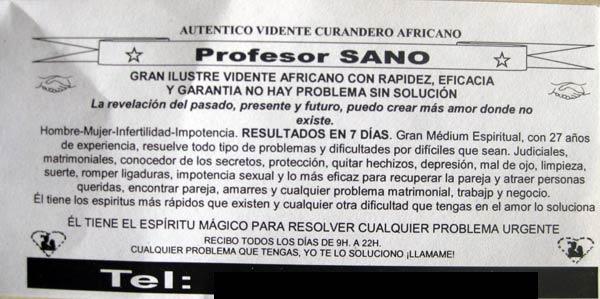 Profesor SANO