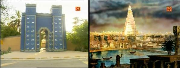 Puerta de Ishtar y Torre de Babel