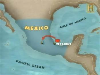 Ruta Veracruz Tenochtitlan