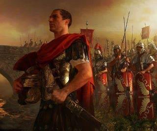 Julio César dispuesto a cruzar el Rubicón