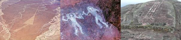 Pistas de Nazca, pinturas rupestres Italia y rampas despegue Samaipata