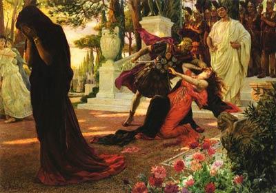 Muerte de Mesalina