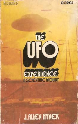 "Portada del libro ""The UFO Experience: A Scientific Inquiry"""