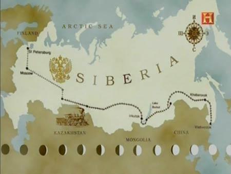 La ruta del Transiberiano
