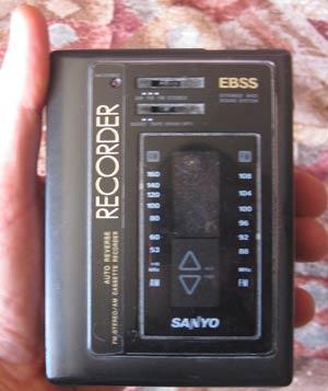 Walkman Sanyo MGR 95R