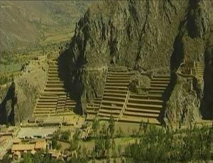 Terrazas en el Valle Sagrado