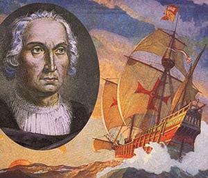 Cruz templaria en las carabelas de Colón