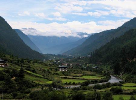 Imagen de pueblo de Bután