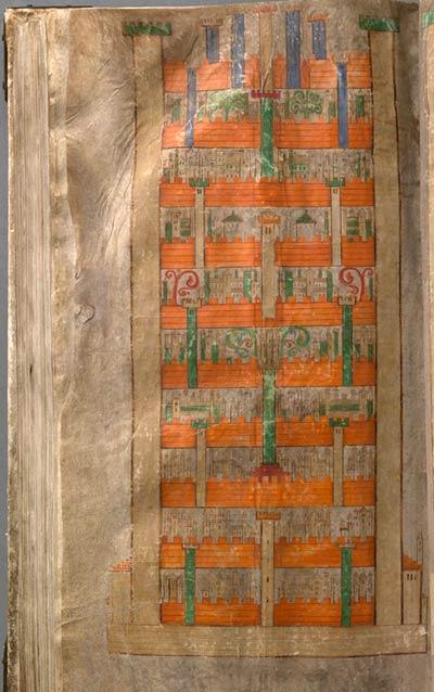 Ilustración de Jerusalén celestial