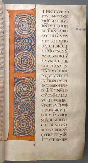 Una página del Codex Gigas