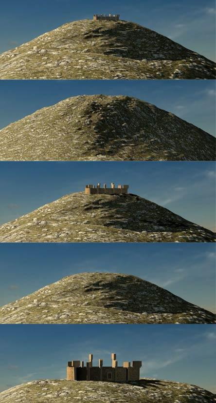 Proceso de enterrado y edificación en Gobekli Tepe
