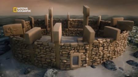 Así eran los recintos de Göbekli Tepe