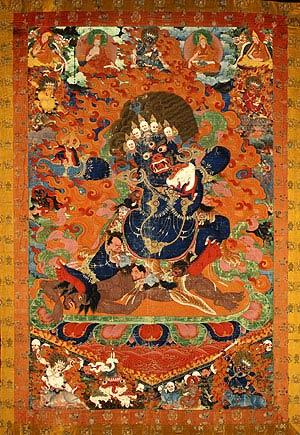 Yama, la muerte tibetana