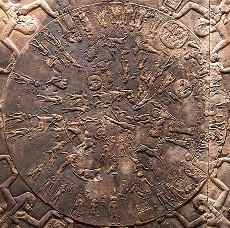 Zodiaco del templo de Dendera