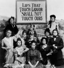 Grupo de mujeres a favor de la Ley Seca