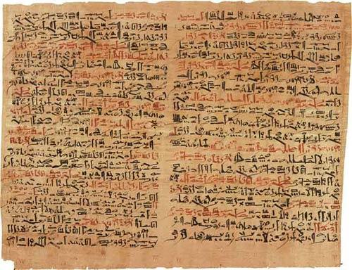 Papiro Ebers de Egipto