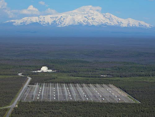 Instalaciones HAARP en Gakona, Alaska