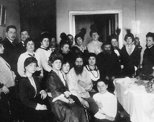 Rasputín y sus admiradoras