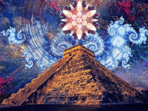Geometría sagrada en nuestro universo fractal