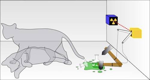 Experimento del gato de Schrödinger