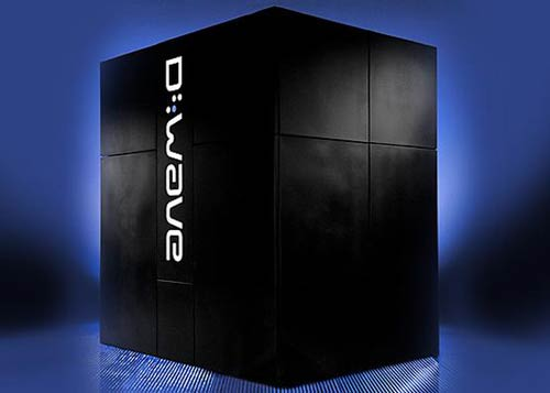 Ordenador cuántico de D-Wave Systems