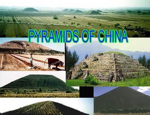Pirámides en China